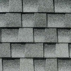 Close up photo of GAF's Timberline HD Birchwood shingle swatch