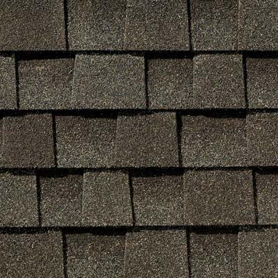 Close Up Photo Of GAFs Timberline Natural Shadow Weathered Wood Shingle Swatch